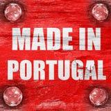 制造在葡萄牙 库存照片