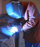 制造焊接 免版税库存图片