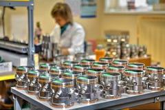 制造的工业程序控制的电子instrumen 库存图片