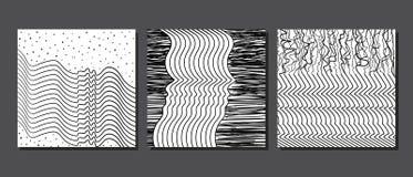 刷子纹理样式 库存例证