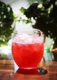 刷新的冷的桃红色鸡尾酒 免版税库存照片