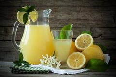 刷新的柠檬水 免版税库存图片