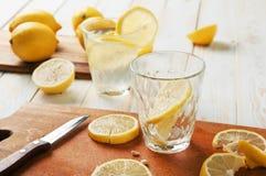 刷新的柠檬水 库存照片