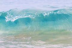 刹车的波浪 库存图片