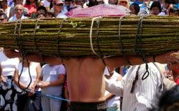 复活节游行墨西哥 免版税图库摄影