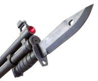 刺刀被挂接的猎枪 免版税库存图片