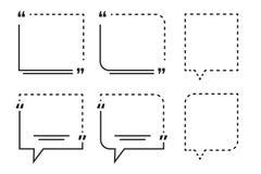 刺激行情与编辑可能的概述冲程的箱子模板 库存照片