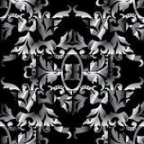 刺绣五颜六色的花卉无缝的样式 挂毯传染媒介bac 库存图片