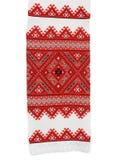 刺绣传统乌克兰语 库存照片