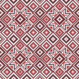 刺绣 乌克兰国家装饰品 库存图片
