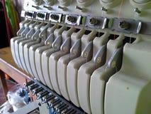 刺绣机器的组分 免版税库存照片