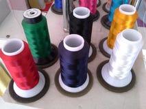 刺绣机器的组分 免版税图库摄影