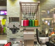 刺绣机器 免版税库存照片