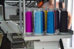 刺绣机器 免版税库存图片