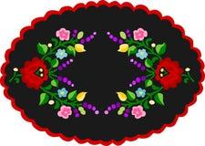 刺绣样式1 免版税库存图片