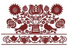 刺绣样式7 免版税库存照片