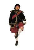 刻痕苏格兰战士 库存照片