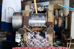 剁碎的鱼 免版税图库摄影