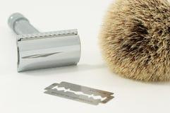 剃刀安全性 库存照片