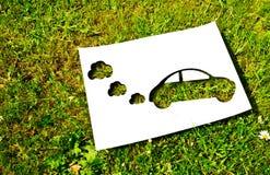 削减纸,可再造能源概念 库存图片