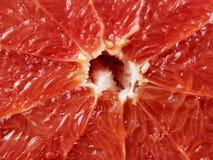 削减葡萄柚红色 库存照片