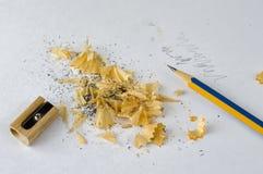 削尖画的一支铅笔 免版税图库摄影