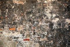 削皮油漆墙壁背景纹理 免版税库存照片