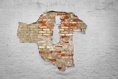 削皮油漆墙壁背景 库存图片