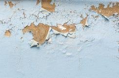 削皮油漆背景和纹理在pastering的墙壁上的 免版税库存照片