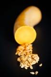 削皮的南瓜籽 图库摄影