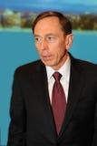 前中央情报局局长,大卫・霍威尔・彼得雷乌斯 库存图片