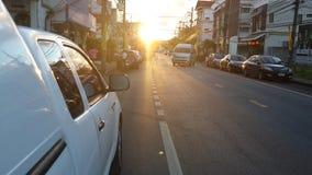前光在普吉岛泰国 免版税库存图片