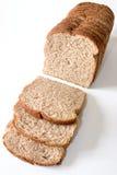 前切的面包 免版税库存照片
