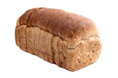 前切的面包 库存照片