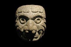 前印加人雕塑石头 免版税库存照片