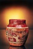 前哥伦比亚人花瓶 免版税库存照片