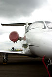 前喷气机中间名 免版税库存图片