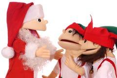 前圣诞节会议 免版税库存图片