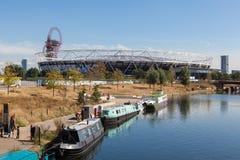 前奥林匹克体育场在伦敦 免版税库存照片