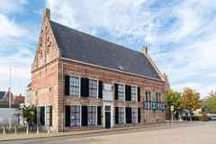 前孤儿院在弗拉讷克,弗里斯,荷兰 免版税库存照片
