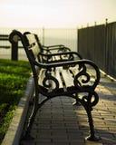 前座统排椅 免版税库存照片