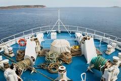 前往到海运 库存照片