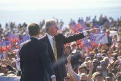 前总统比尔・克林顿 库存照片