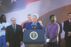前总统比尔・克林顿 免版税图库摄影