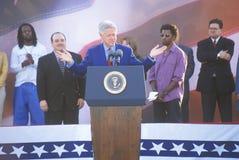 前总统比尔・克林顿 免版税库存图片
