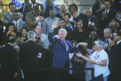前总统比尔・克林顿 库存图片