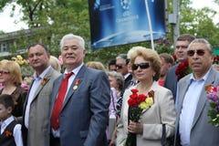前总统vladimir voronin 图库摄影