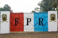 前爱国卢旺达 库存照片