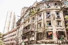 从前的Bulding在孟买,印度 免版税库存照片