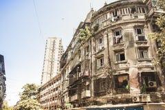 从前的Bulding在孟买,印度 库存照片